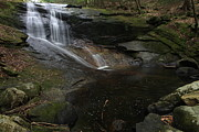 Waterfall Prints - Chapel Brook Falls Print by Sheila Savage