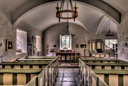 Religious Digital Art Prints - Chapel In Wales Print by Adrian Evans