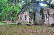 St. Helena Photos - Chapel of Ease with Tomb by Scott Hansen