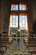 Red-rock Country Prints - Chapel of the Holy Cross Interior Print by Jon Berghoff