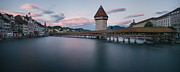 Lucerne Originals - Chapelbridge in Lucerne by Michael Walker