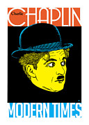 Vector Prints - Chaplin Print by Gary Grayson