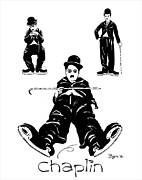 Print Ceramics - Chaplin is COOL by David Byrne