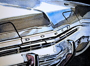 Monaco Art - Charcoal Chrome and Blue by Spencer Meagher