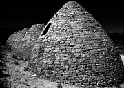 Charcoal Photos - Charcoal Ovens by Benjamin Yeager
