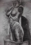 Annamaria Shkurti - Charcoal Woman body