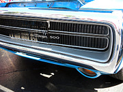 440 Six Pack Prints - Charger 500 Front Grill and Emblem Print by Thomas Woolworth