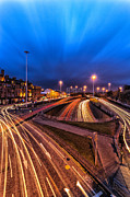 Blue Hour Photos - Charing Cross Glasgow by John Farnan
