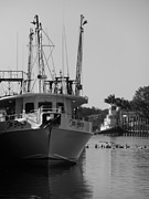 Trawler Metal Prints - Chariots Of The Sea Metal Print by Spyglass Galleries -  Captain Layne