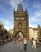 Karluv Most Photos - Charles Bridge in Prague - 01 by Gregory Dyer
