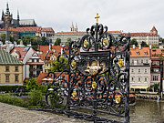 Town Square Prints - Charles Bridge - Prague Print by Jon Berghoff