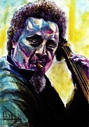 New Orleans Oil Paintings - Charles Mingus by Ashok Karnik