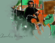 Musicians Originals - Charles Mingus by Frans Mandigers
