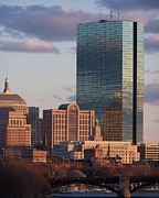 Boston Ma Posters - Charles River Buildings Poster by Pamela Walters