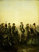 Whistler Paintings - Charles Rochussen Napoleon met zijn staf by MotionAge Art and Design - Ahmet Asar