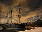 Wooden Ship Prints - Charles W. Morgan Print by Robin-Lee Vieira