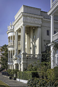 Lynn Palmer Prints - Charleston Alibaster Mansion Print by Lynn Palmer