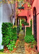 Courtyards Photos - Charleston Charm 2 by Mel Steinhauer