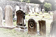 Jeff Holbrook Art - Charleston Graves by Jeff Holbrook