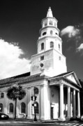 City Hall Prints - CHARLESTON LAYERS Charleston SC Print by William Dey