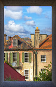 Singles Framed Prints - Charleston Singles Out My Window Framed Print by Dustin K Ryan