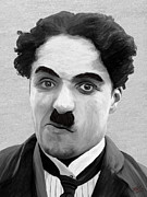Icons Digital Art - Charlie Chaplin 1 by James Shepherd