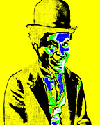 Vaudeville Prints - Charlie Chaplin 20130212p60 Print by Wingsdomain Art and Photography