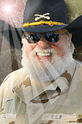 Hall Digital Art Originals - Charlie Daniels by Don Olea