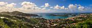Charlotte Amalie St. Thomas Print by Keith Allen
