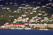 Charlotte Amalie Prints - Charlotte Amalie United States Virgin Islands Print by Jason O Watson