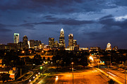 Charlotte At Dusk Print by Phyllis Peterson