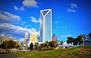 Clt Photo Prints - Charlotte Print by Chris Gonyar