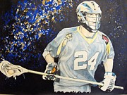 Lacrosse Paintings - Charlotte Hound by Darryl Mallanda