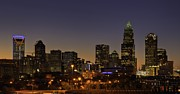 Charlotte Photo Prints - Charlotte NC Print by Serge Skiba