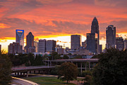 Charlotte Photo Prints - Charlotte Sky Print by Serge Skiba