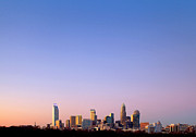 Mecklenburg County Photos - Charlotte skyline in distance by Patrick Schneider