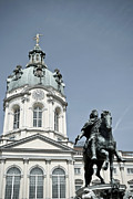 Berlin Germany Mixed Media - Charlottenburg Palace in Berlin by Design Windmill