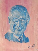 British Celebrities Originals - Charming Prince Charles by Mercedes  Hall