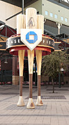 Baseball Art Print Photos - Chase Field by Malania Hammer