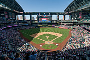 Ballfield Framed Prints - Chase Field Framed Print by Mark Whitt