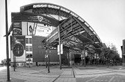 Baseball Art Print Photos - Chase Field - Phoenix by Ricky Barnard