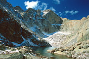 Rocky Mountain National Park Prints - Chasm Lake Print by Eric Glaser