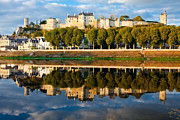 Chateau Above And Below Chinon  Print by Kirk Strickland
