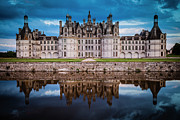 Chateaux Photos - Chateau Chambord by Brian Jannsen