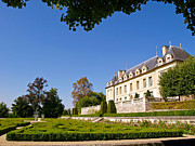 Chateau Prints - Chateau dAuvers-sur-Oise Print by Alex Cassels
