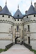 Chateau De Chaumont - France Print by Christiane Schulze