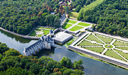 Intrique Prints - Chateau de Chenonceau and its gardens Print by Mick Flynn