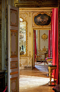 French Door Framed Prints - Chateau de Versailles Framed Print by Brian Jannsen