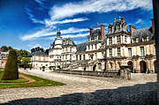 Chateaux Framed Prints - Chateau Fontainebleau - France Framed Print by Jon Berghoff