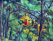 John Peter Framed Prints - Chateau Noir by Cezanne Framed Print by John Peter